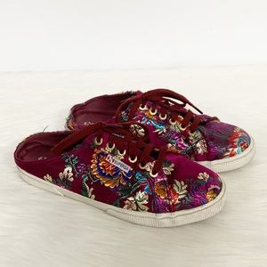Superga | Korelaw Floral Embroidered Mule Sneakers